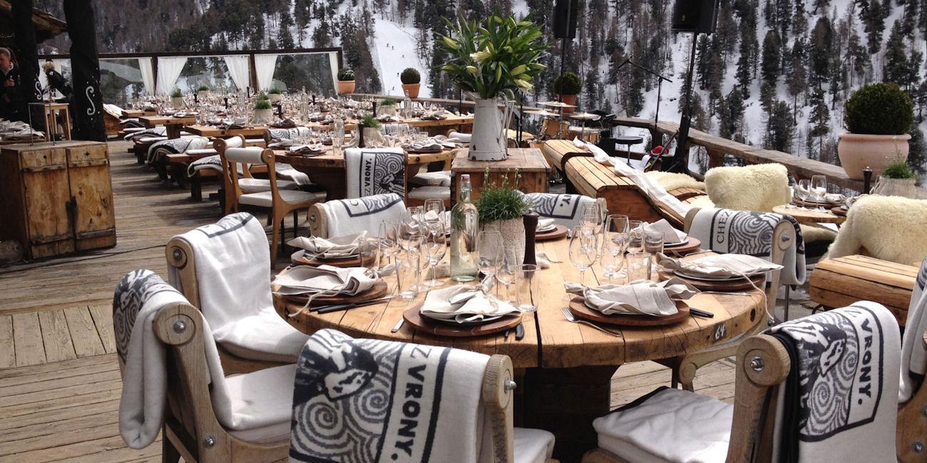 Best Restaurants Zermatt ~ Chez Vrony / Photo:chezvrony.ch