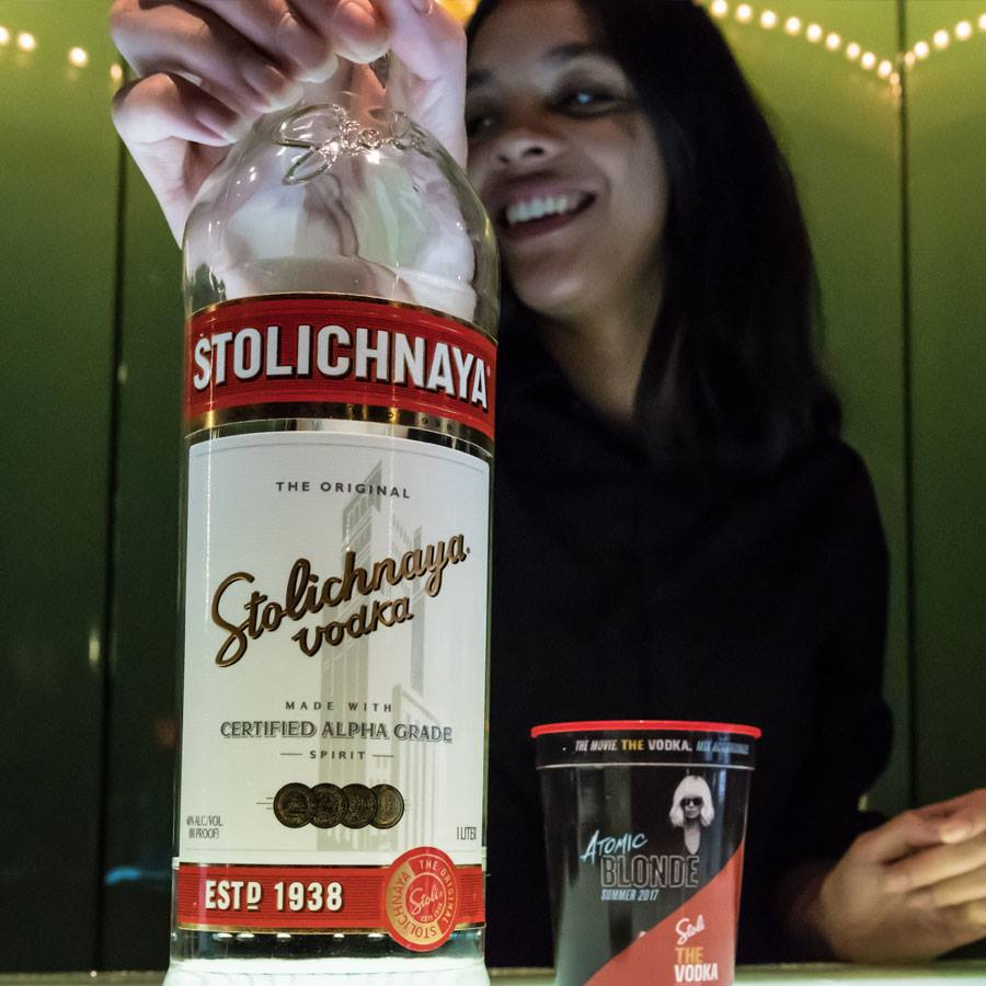 "The ""Internatonal"" Stolichnaya"