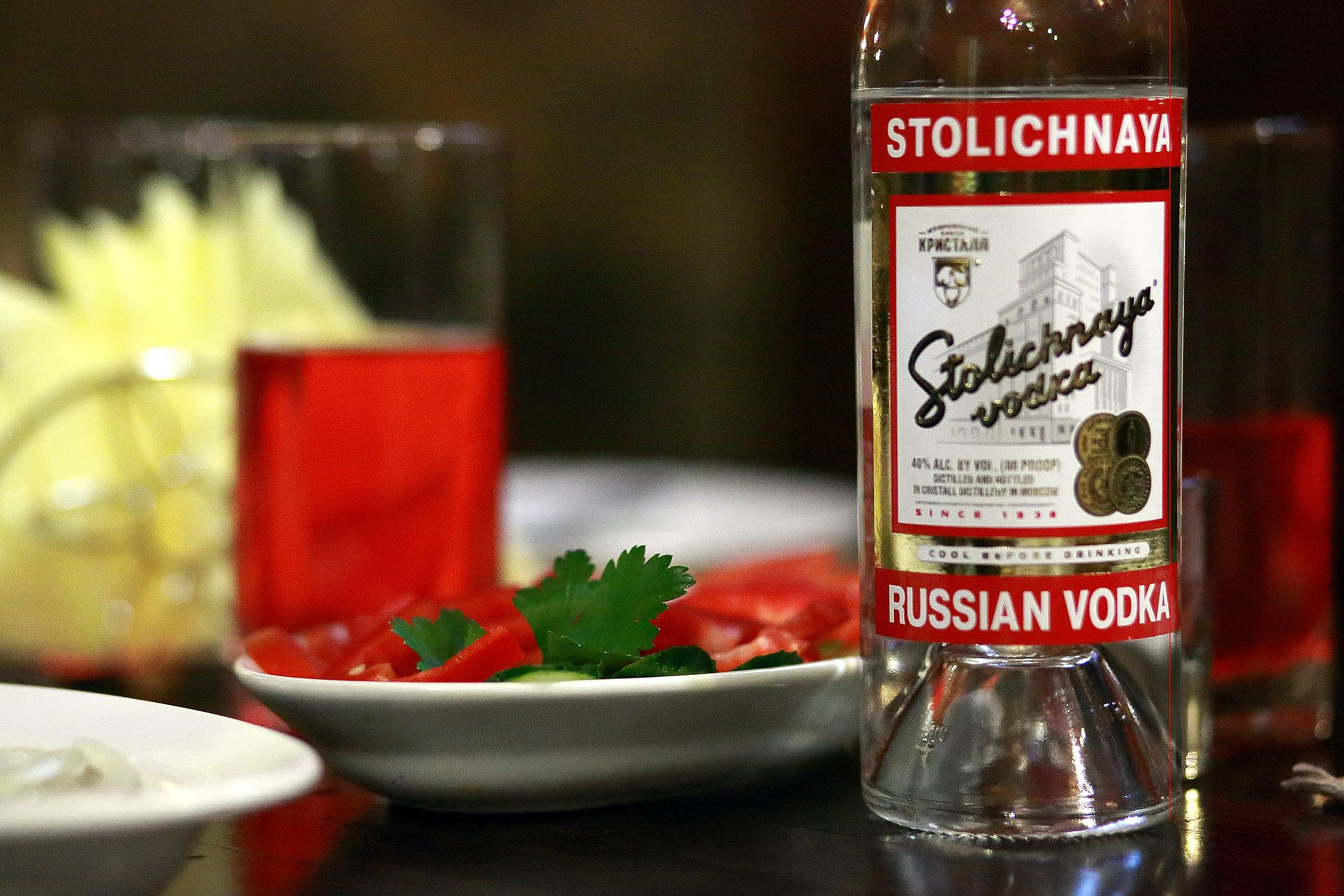 The Russian Stolichnaya