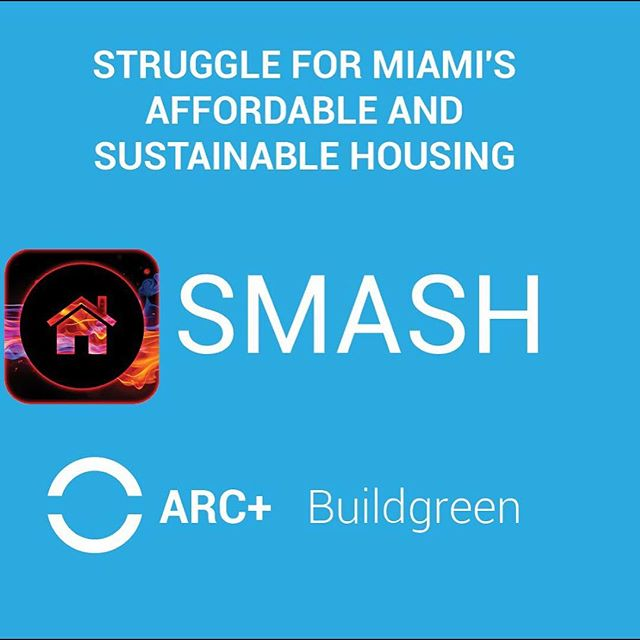 On this #givingtuesday we are helping to support the dedicated team at @smash.miami and their efforts to build a more affordable and sustainable miami. #design #affordablehousing #buildingdesign #poweredbyprocore #arcplusyou #fiuarchitecture #studentwork #startsomegood https://startsomegood.com/projects/smash-housing-project/