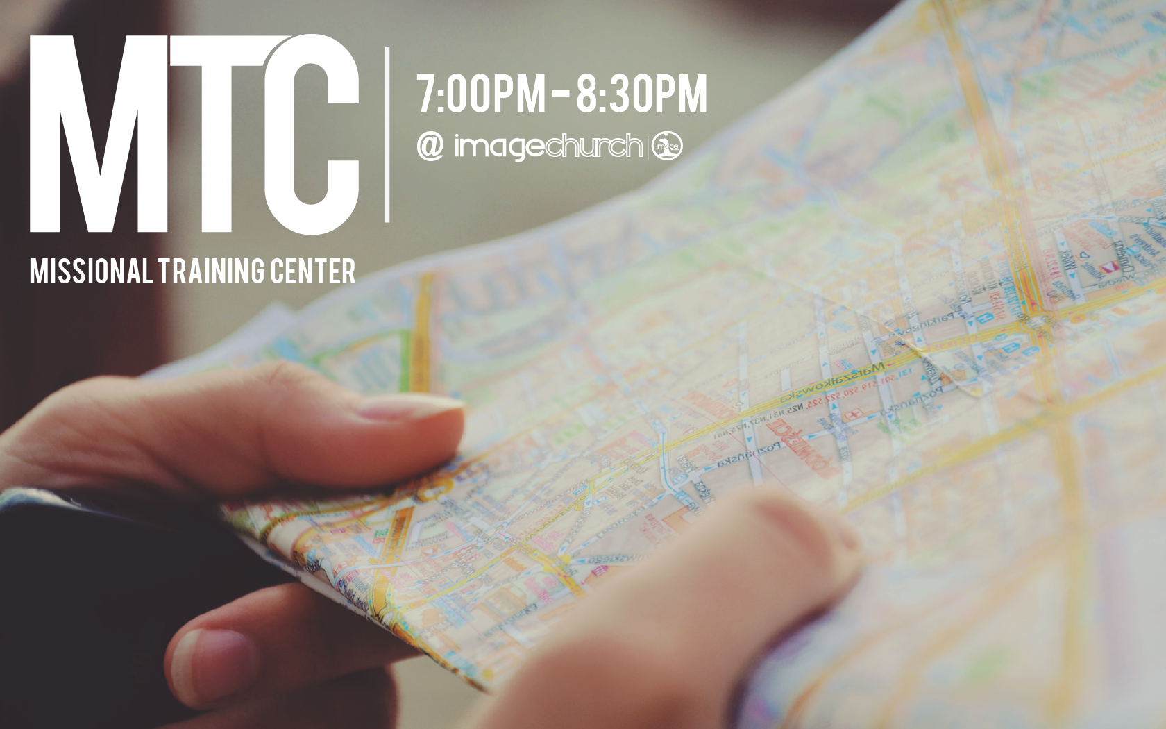 MTC / Missional Training Center  Wednesday, April 5, 2017  7:00pm - 8:30pm  Image Church  13900 Church Hill Drive  Woodbridge, Va. 22191  Join us for our monthly training center, intentionally designed to help train and equip you to make disciples who make disciples. All our welcome! Dinner and childcare are provided.