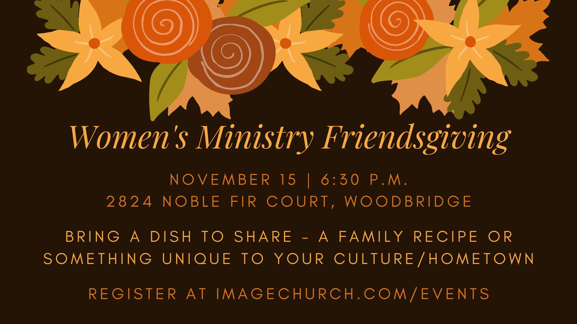 Women's Ministry Friendsgiving TV.png