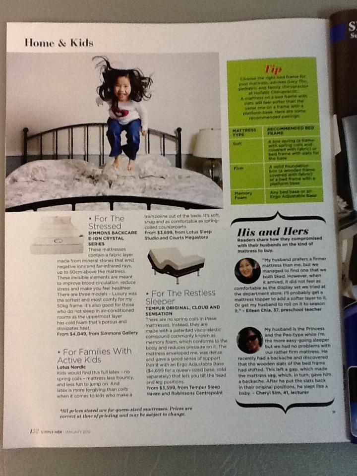Simply her magazine Singapore health