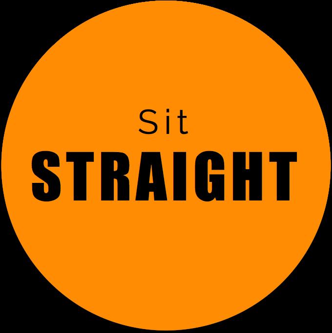 Sit Straight - Office Ergonomics