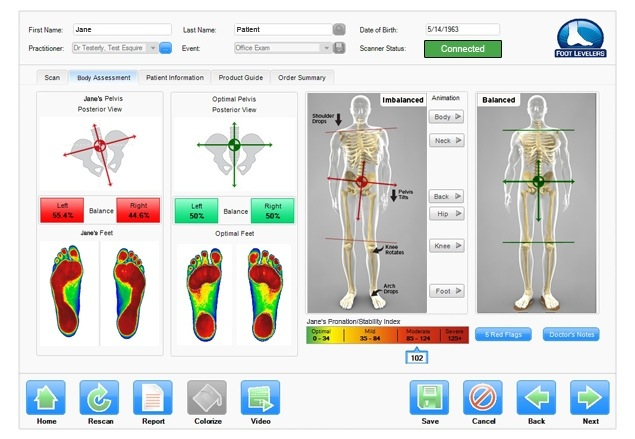 Flat foot affects more than the foot. It impacts the whole body from the knee, to the hip, pelvis, spine and neck.
