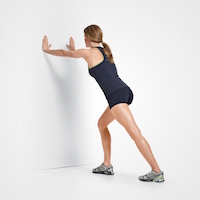 Calf and Achilles tendon stretches can also help to alleviate heel pain.