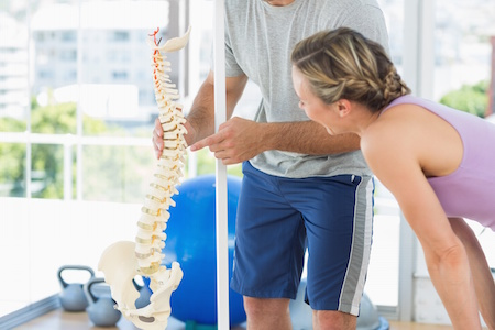 Cure back pain by find and addressing the problem.