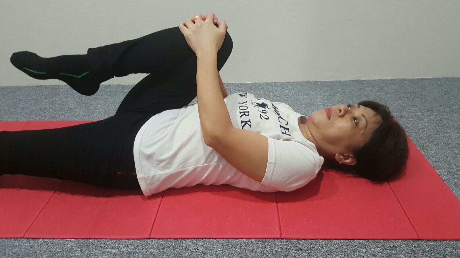 Back and Buttock (Glute) Stretch