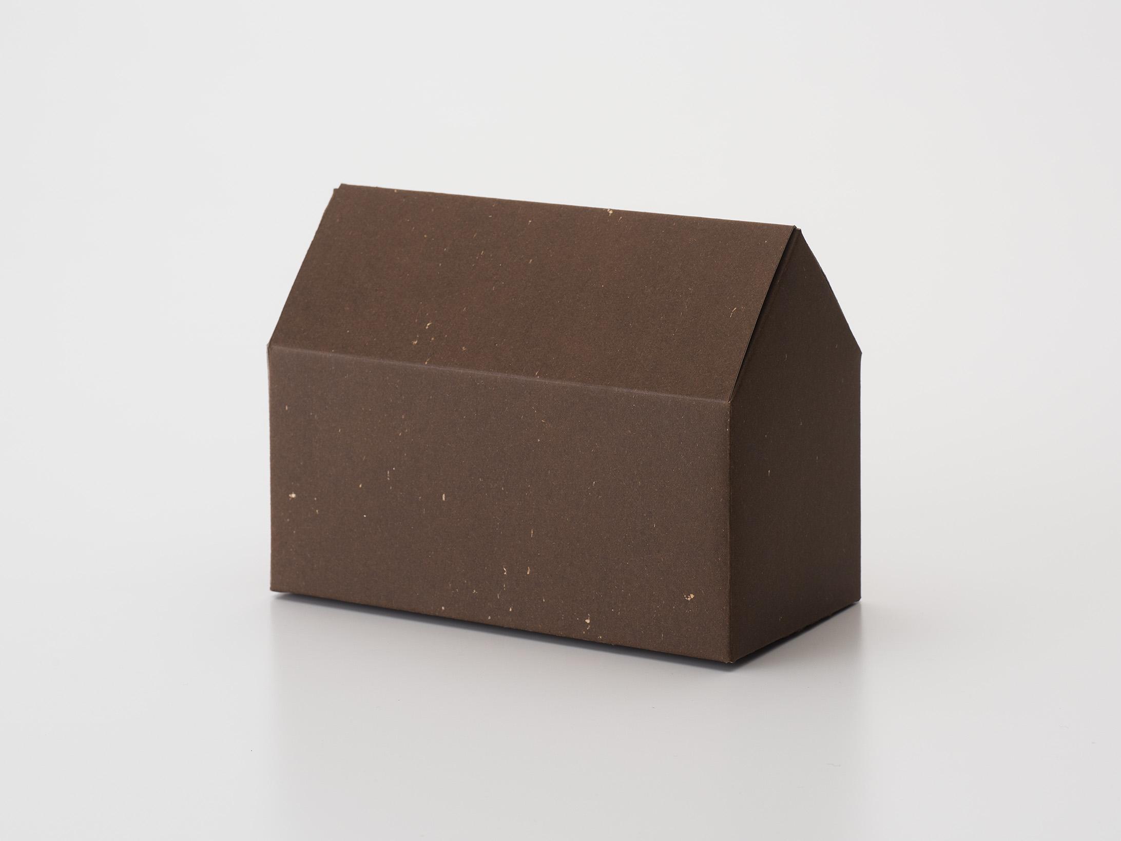 ハウス型の箱