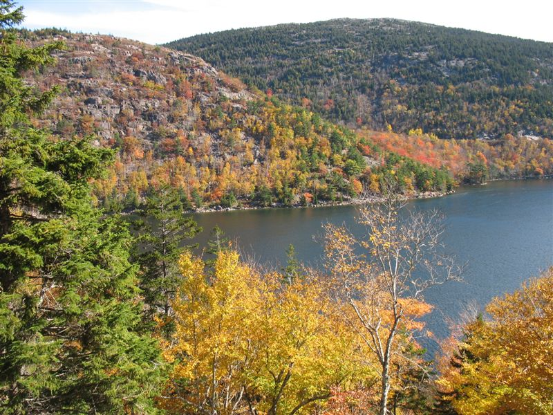 Eagle Lake in Early October