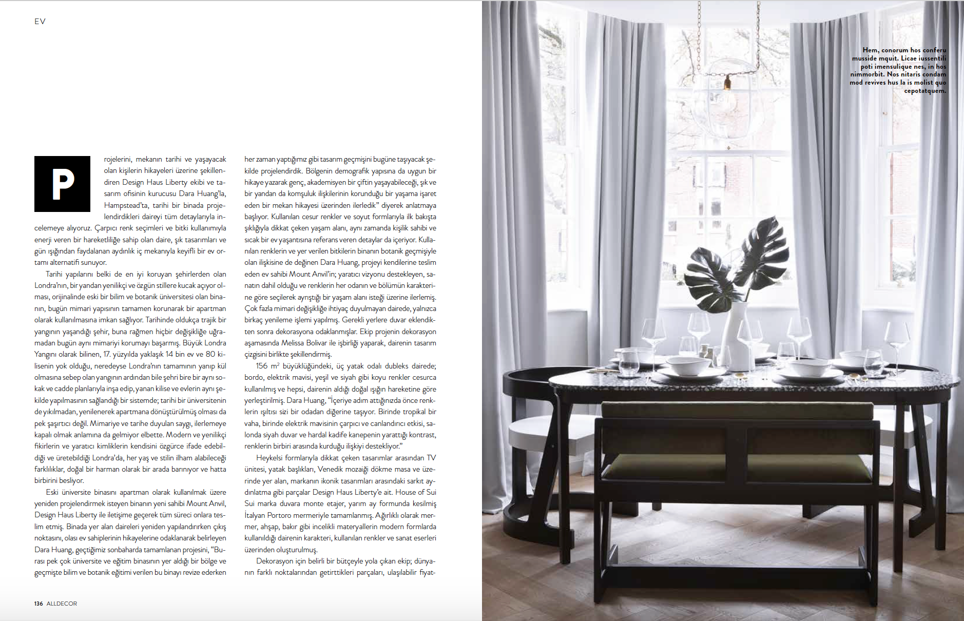 Melissa Bolivar House of Sui Sui Interior Designer London  Elle Decoration