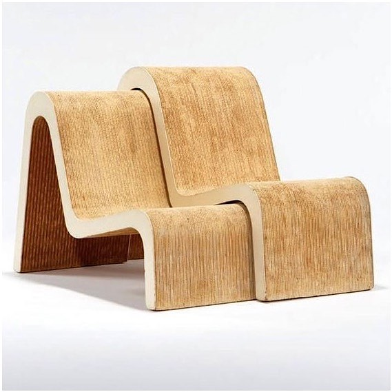 No more plastic chairs!! I wonder if this could be achieved with Hemp Cardboard ? The Cardboard Nesting Chairs by Frank O. Gehry; c1970. #reducewaste - #houseofsuisui - -  #interiorslondon #residentialdesign #hospitalitydesign #residentialdevelopment #hoteldesign #boutiquehotelawards #furnituredesign #londondesign #londoninteriors #interiordesigner #designblog #interiorblog #interiormagazine #art #tatemodern #royalacademyofarts #theworldofinteriors #elledecor #shoreditchhouse #sayhito #vogueliving #ecodesign #instainterior #instadecor #instadesign #hoteldevelopment #deezeen #wallpapermag