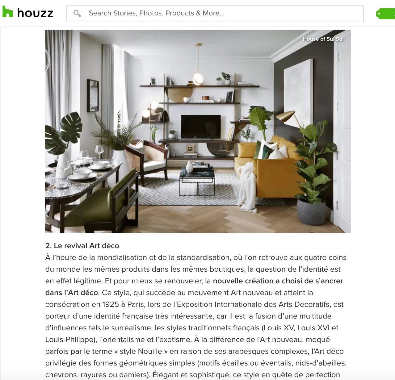 HOUZZ - HOUSE OF SUI SUI Maison & Objet Trends the 2019 Edition Tendances Melissa Bolivar 5