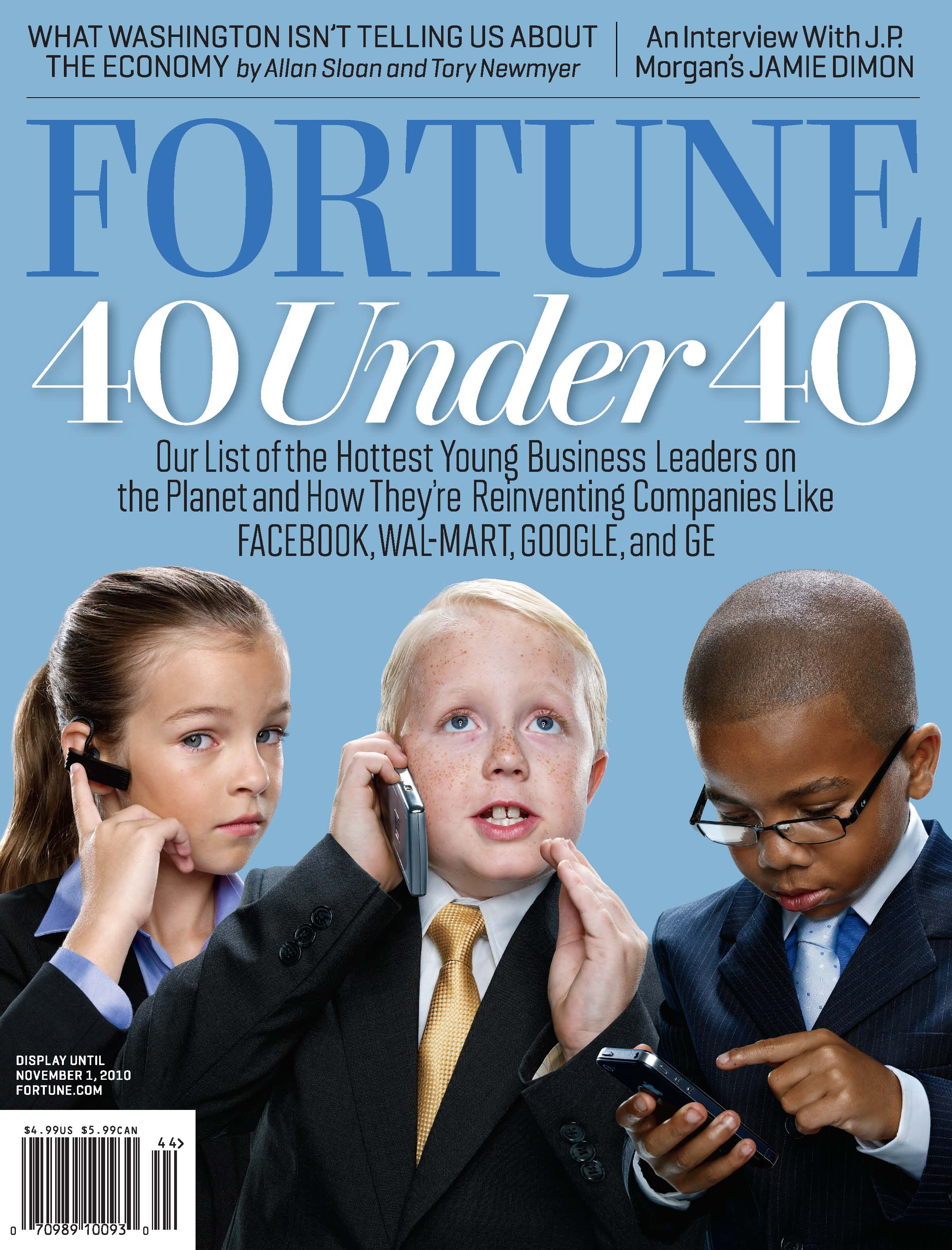 Fortune 40 under 40 cover
