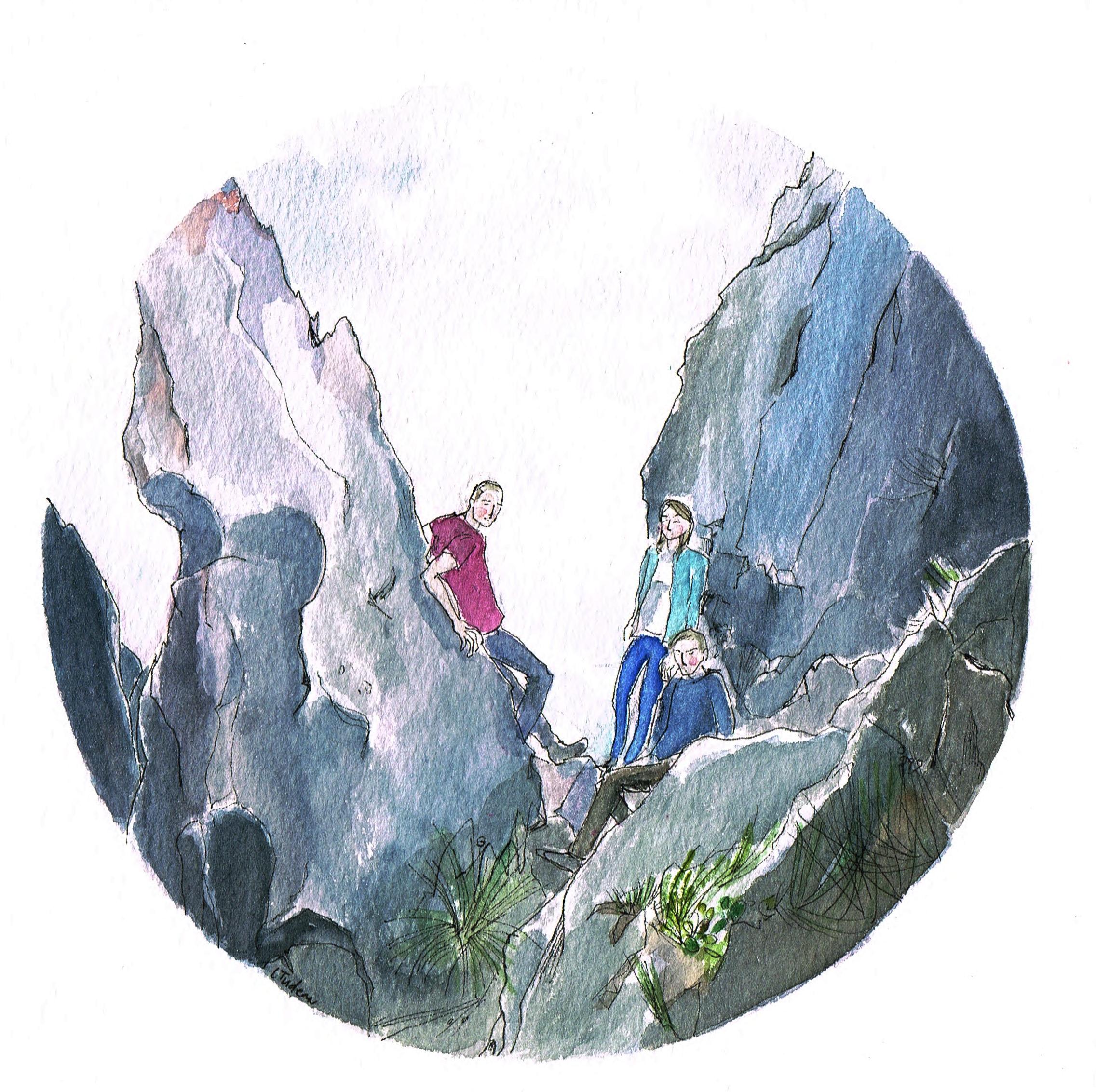 Hike in Oberland