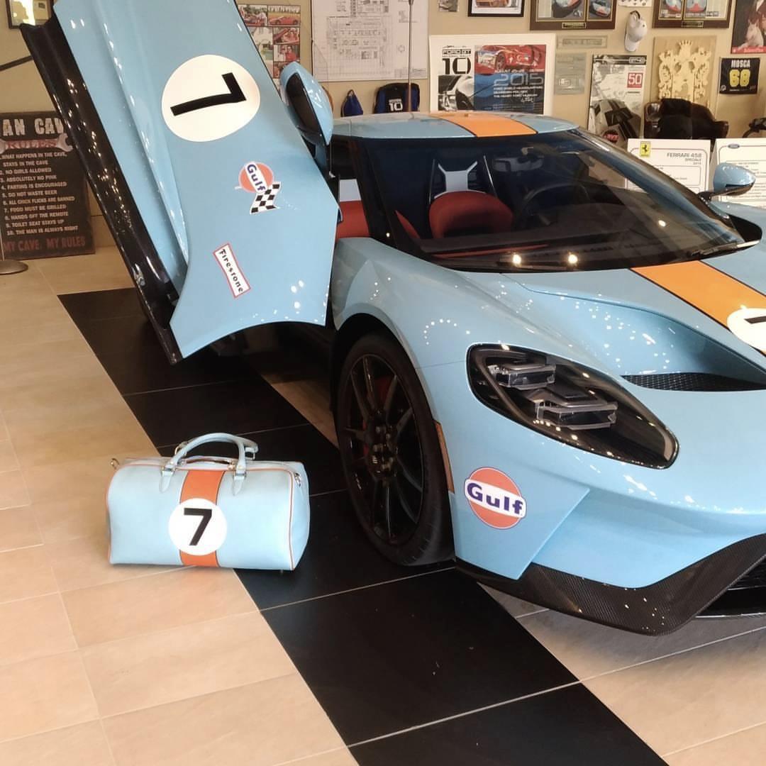 Ford GT - Gulf Theme
