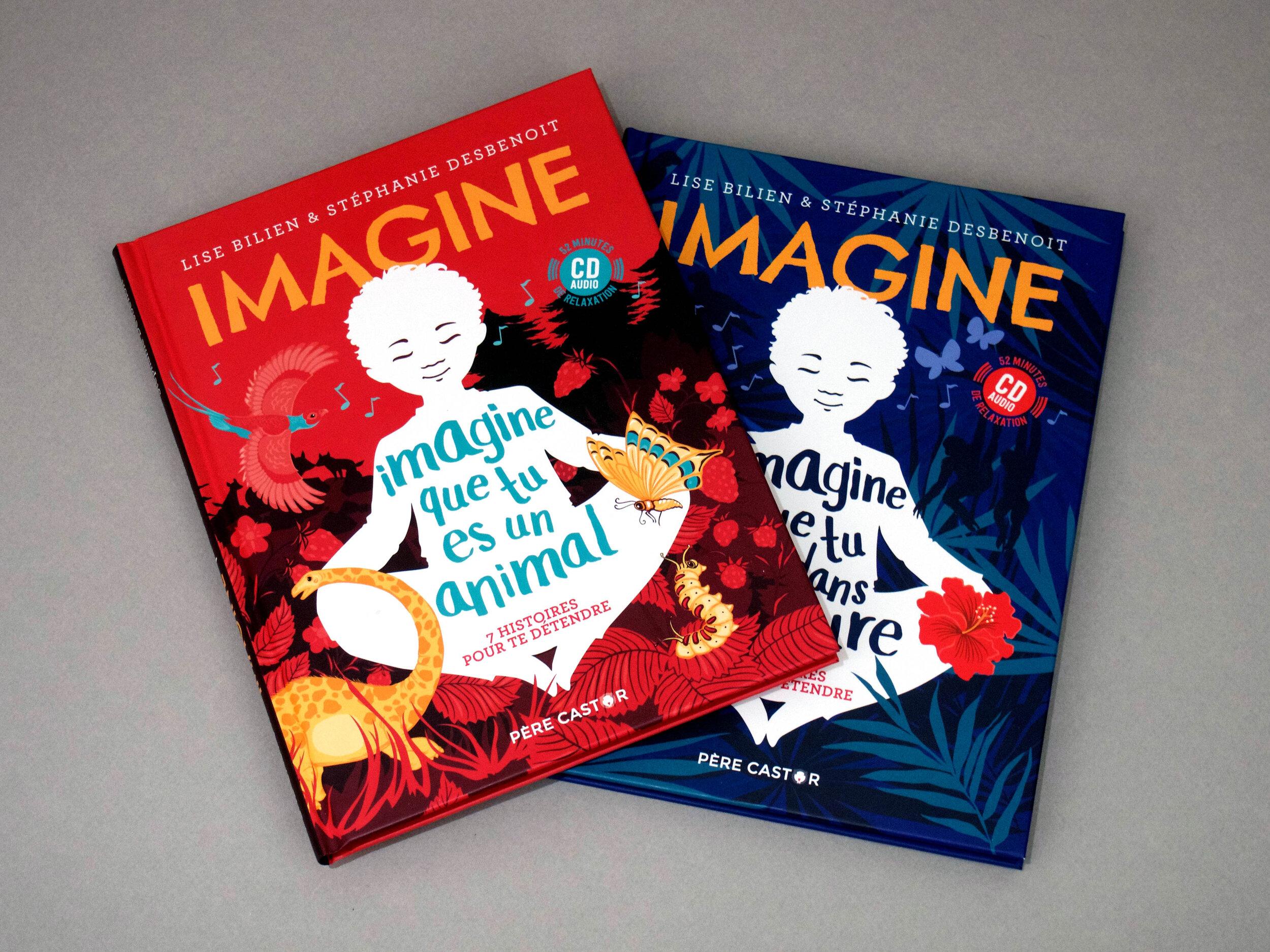 Refonte couvertures, série Imagine