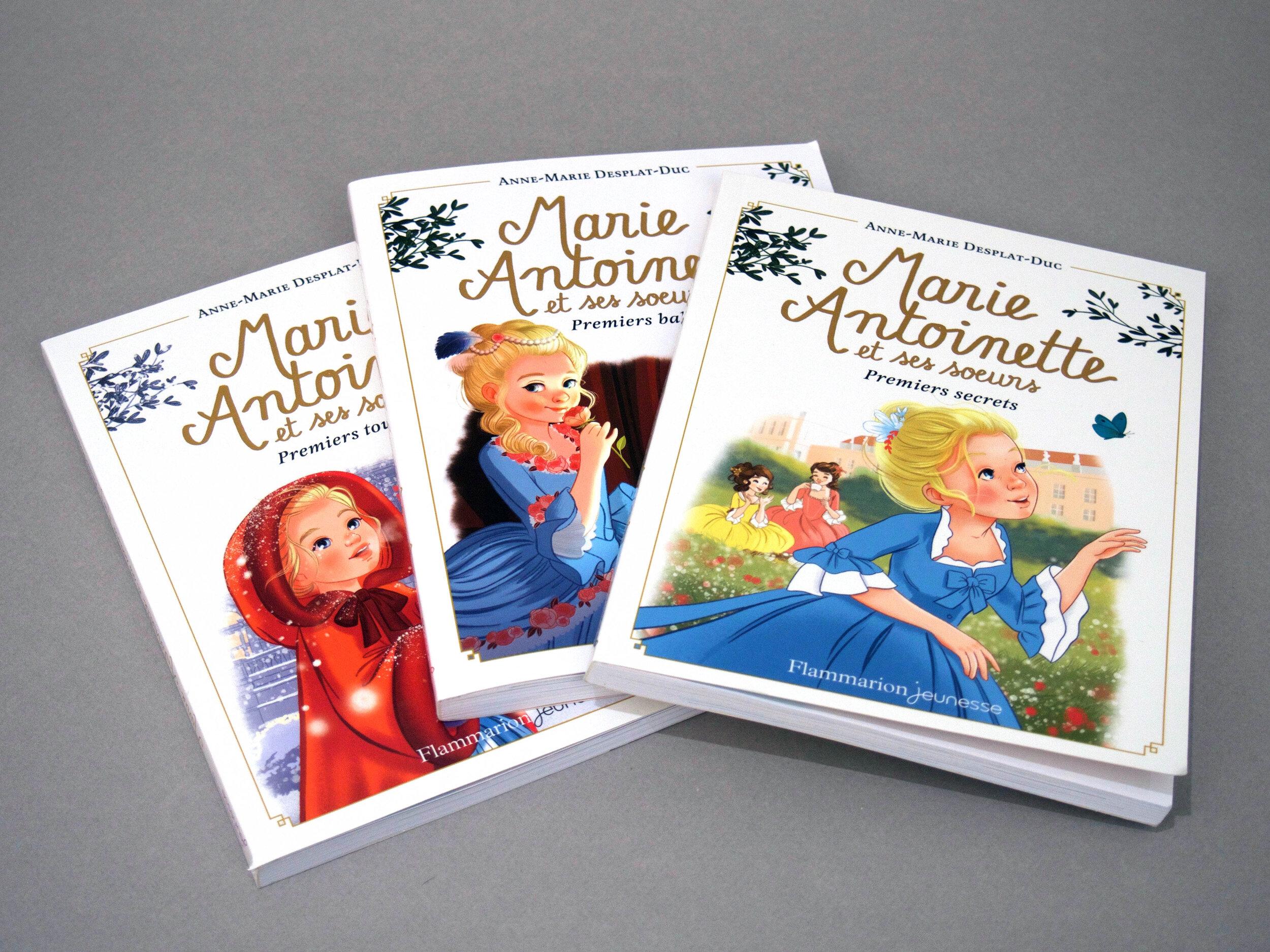 Marie-Antoinette, création de collection