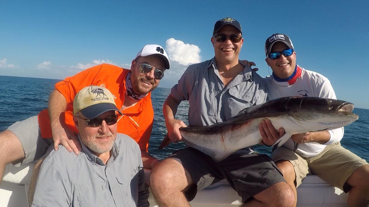 Cobia-Deep Sea Fishing-Fishing Report-Naples Fishing Charters