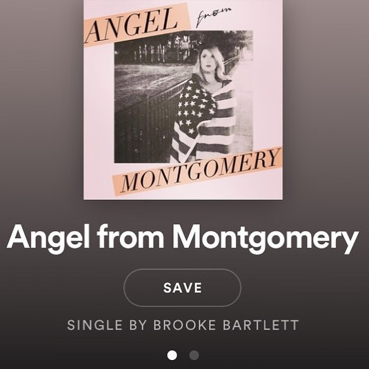 "Hot off the press! Our version of John Prine's ""Angel  from Montomgery"" on @spotify and @itunes 👀❤️🇺🇸Link in bio! #tgif #fliesinthekitchen"