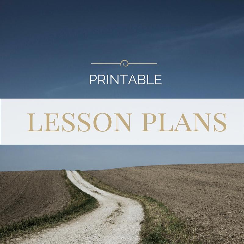 Printable Lesson Plans