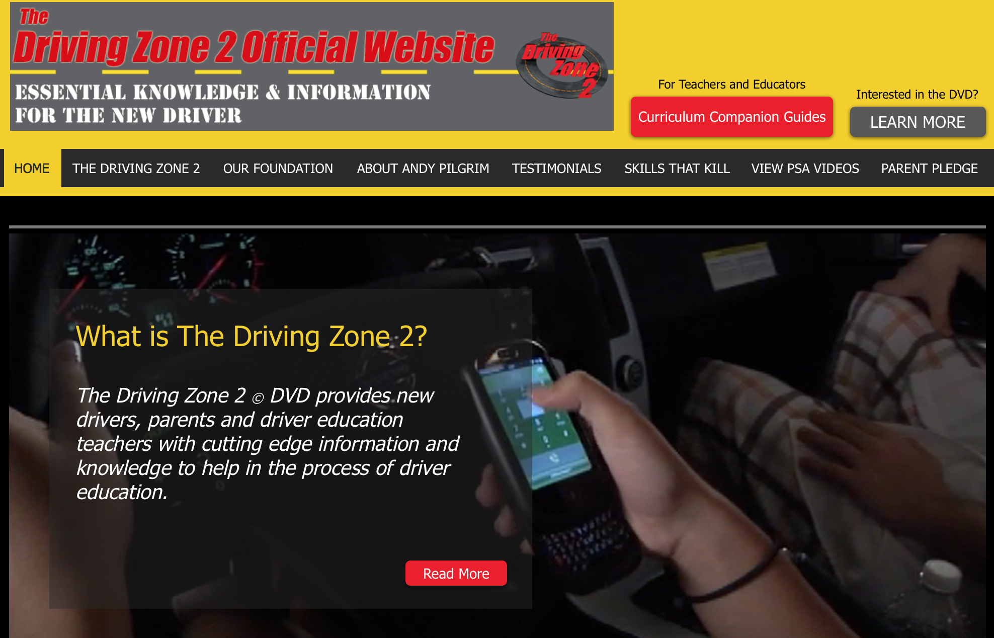 The Driving Zone 2 Official Website