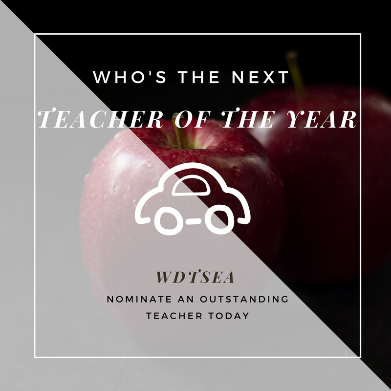 WDTSEA Teacher of the Year