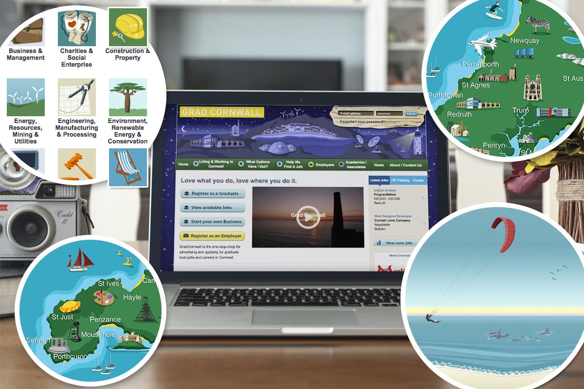 Grad Cornwall Website