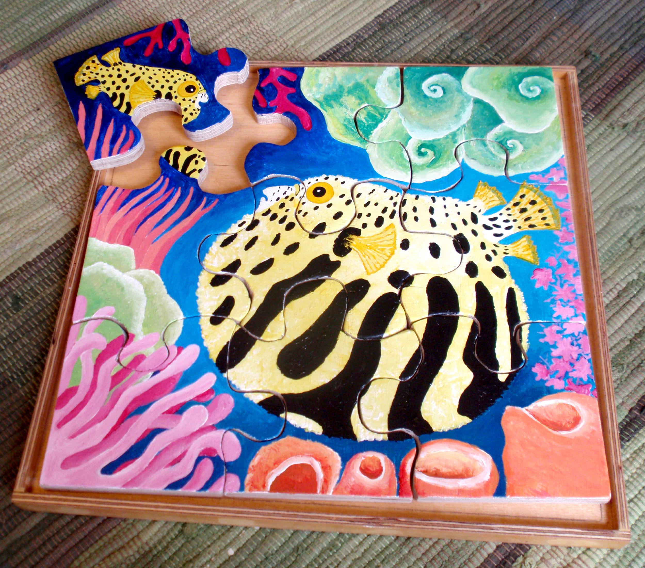 Puffer Fish Jigsaw