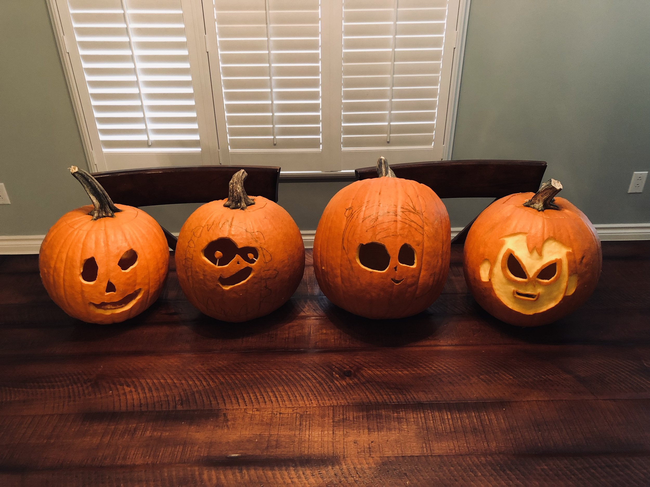 Did some carving this weekend…