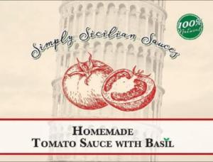 facebook:  simply sicilian sauces llc