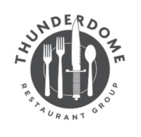 facebook:  thunderdome restaurant group   Instagram:  Thunderdome Restaurant Group