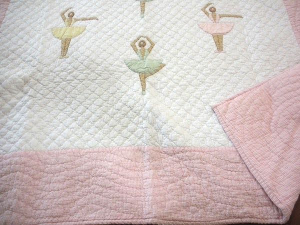 My years of ballet inspired me to carry these elegant Ballerinas Lap Quilts Throws.