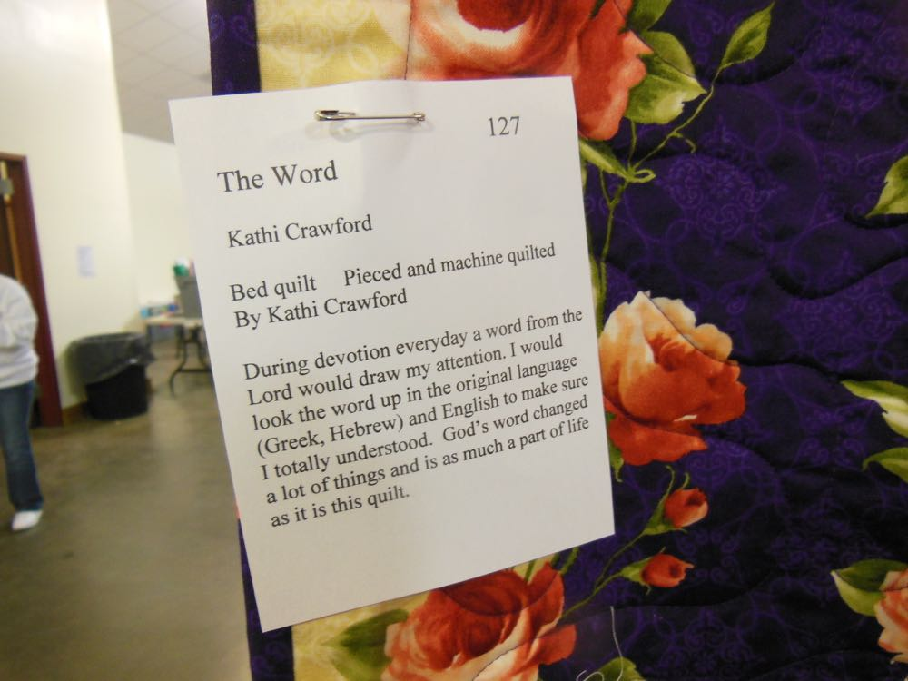 Love the story behind every custom handmade quilt almost as much as the quilt itself.
