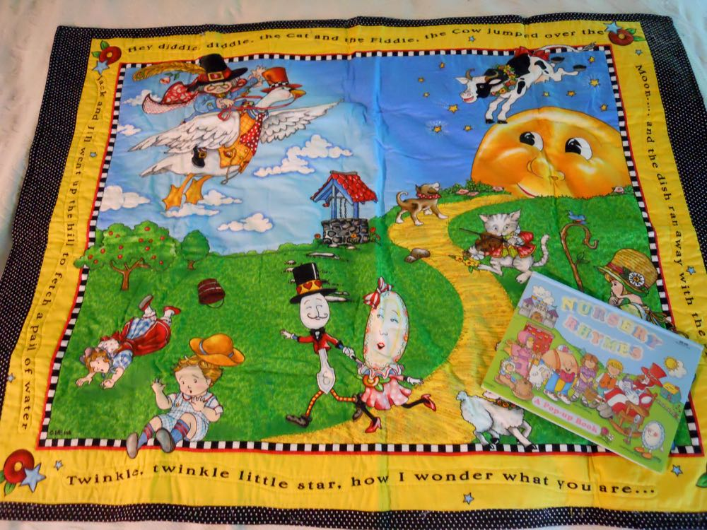 Mother Goose Nursery Rhymes Baby Crib Quilt Gift Set.jpg