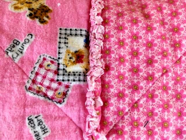 Bears and flowers are favorite baby quilt topics. (Photo by Charlotte Ekker Wiggins)