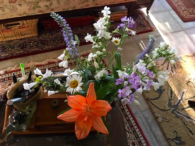 This bouquet of mostly wildflowers has been on my table for two weeks. (Photo by Charlotte Ekker Wiggins)
