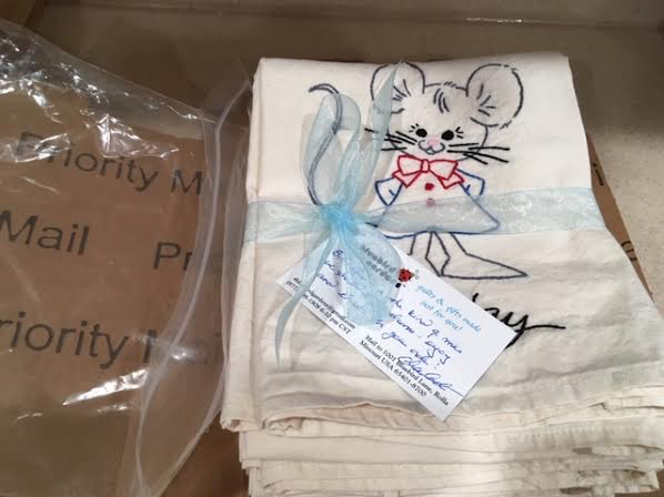 All tied up and ready to ship! (Photo by Charlotte Ekker Wiggins)