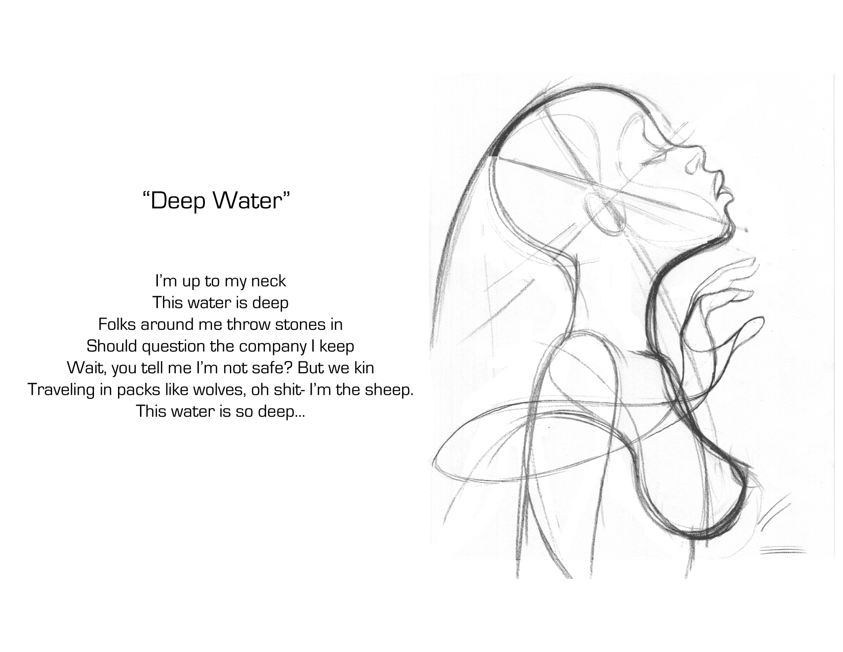 Deep Water Sketch