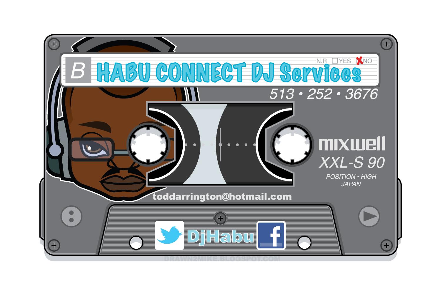 DJ Promo Illustration