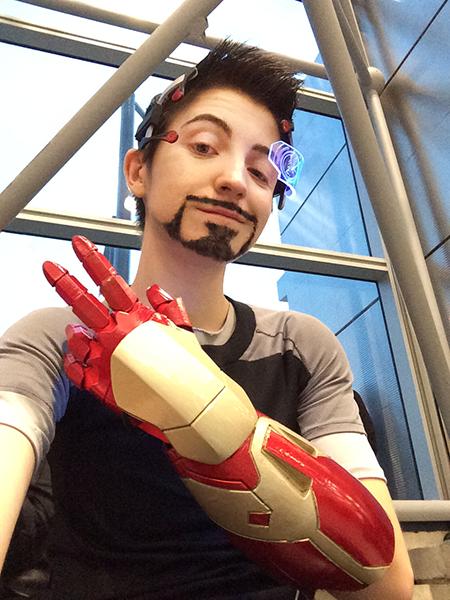 Replica Iron Man Gauntlet — Marcy Schwerin