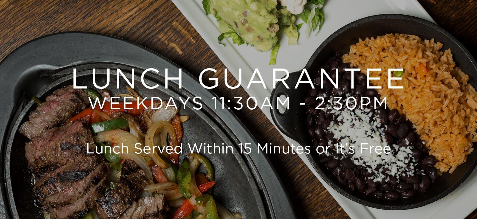 Lunch Guarantee