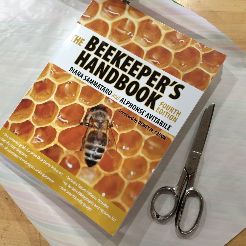 One of the beekeeping books I recommend to new beekeepers.