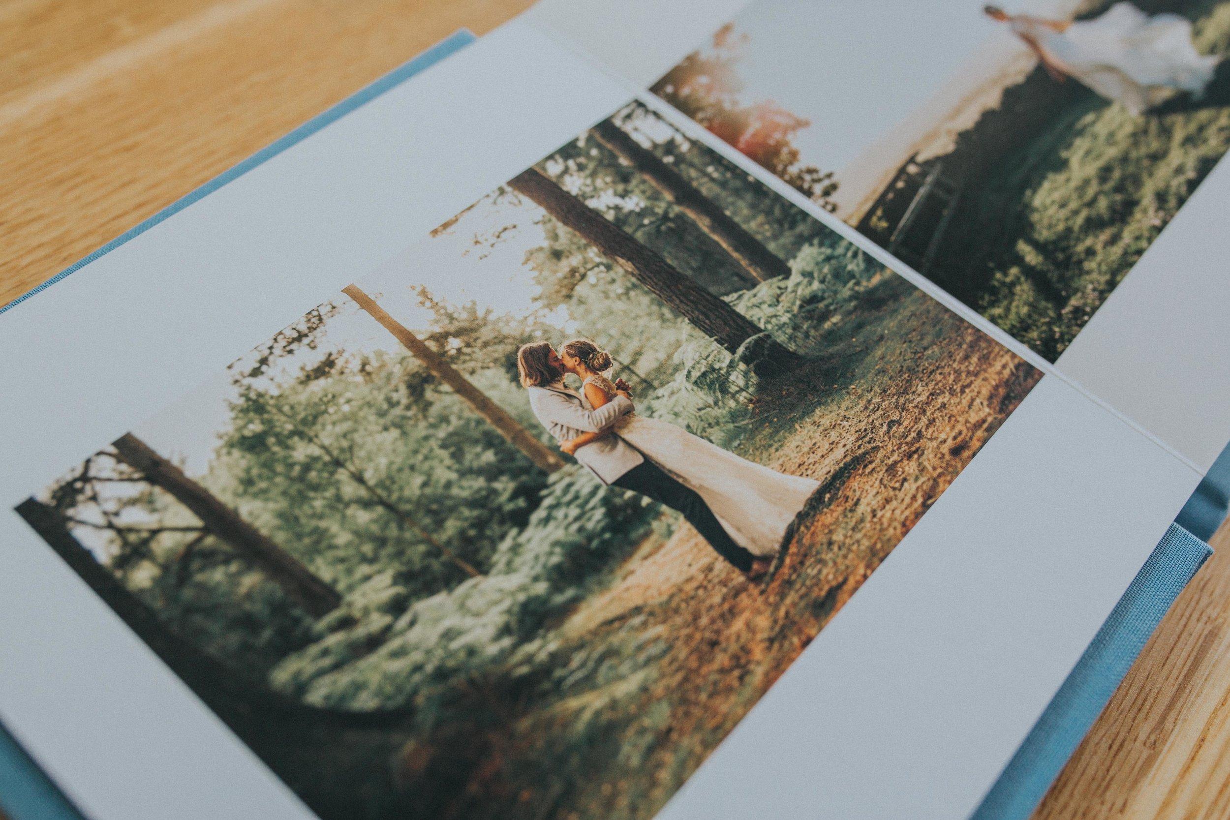 wedding photography albums york