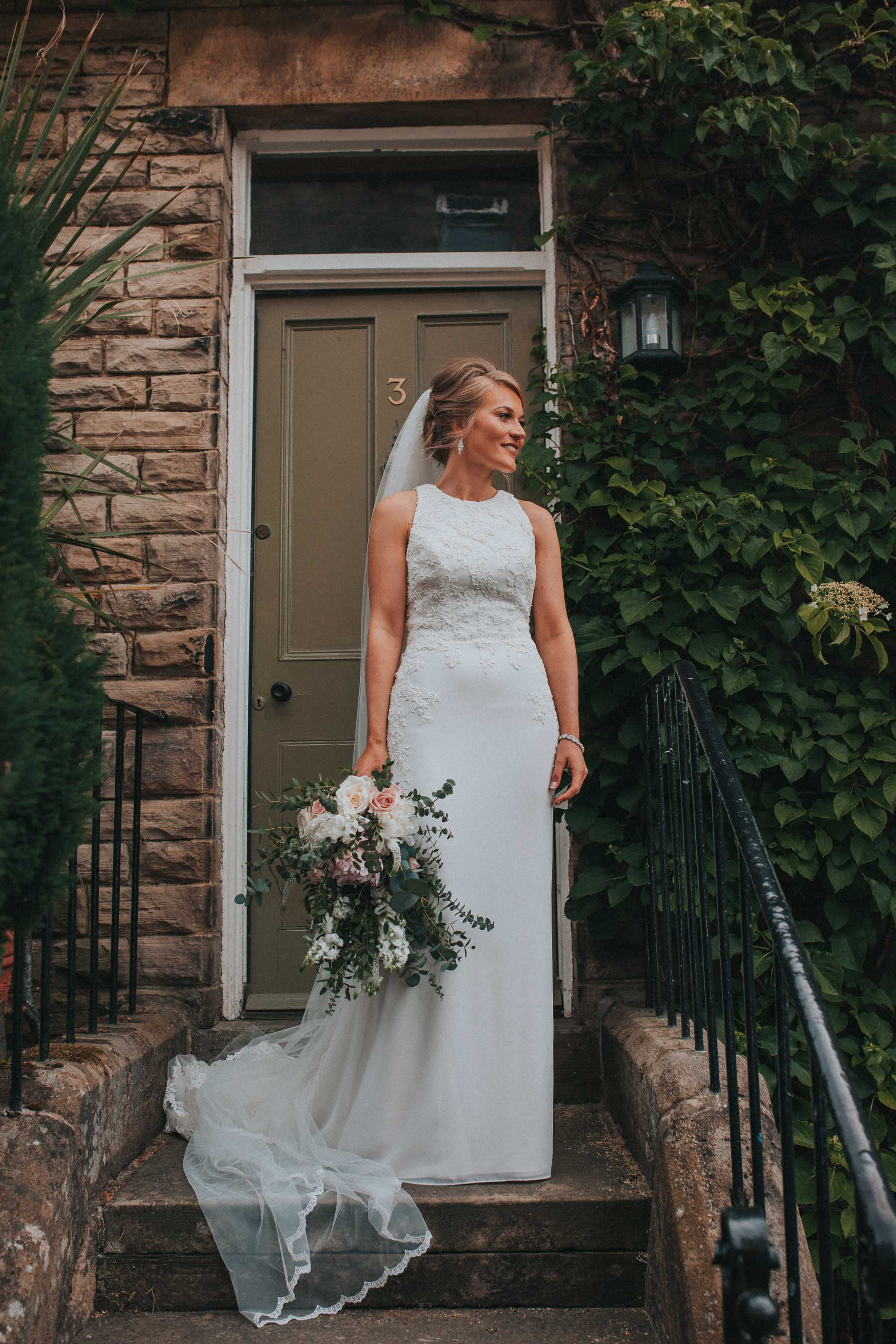 bridal portraits yorkshire wedding
