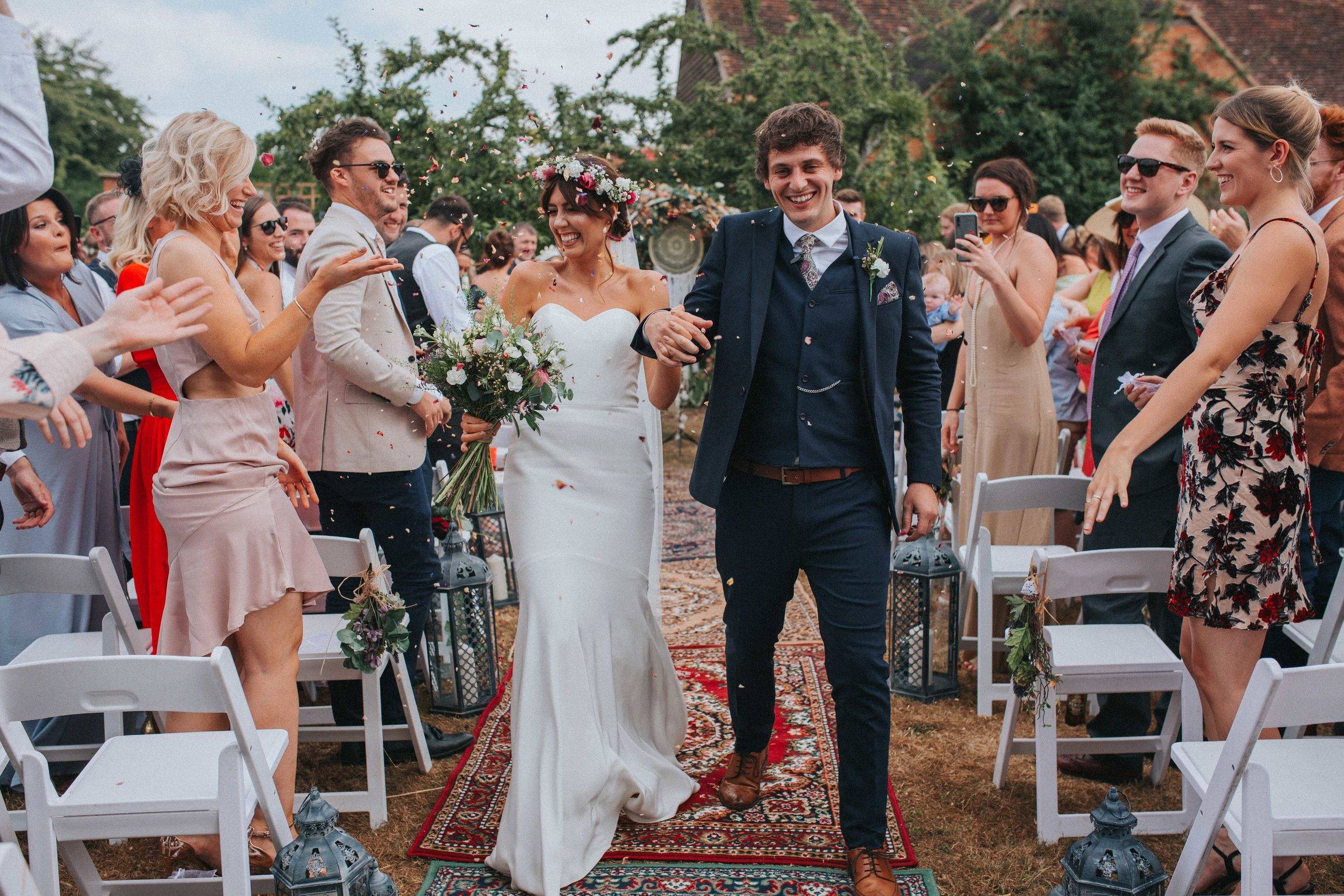 boho wedding bouquet yorkshire wedding photographer