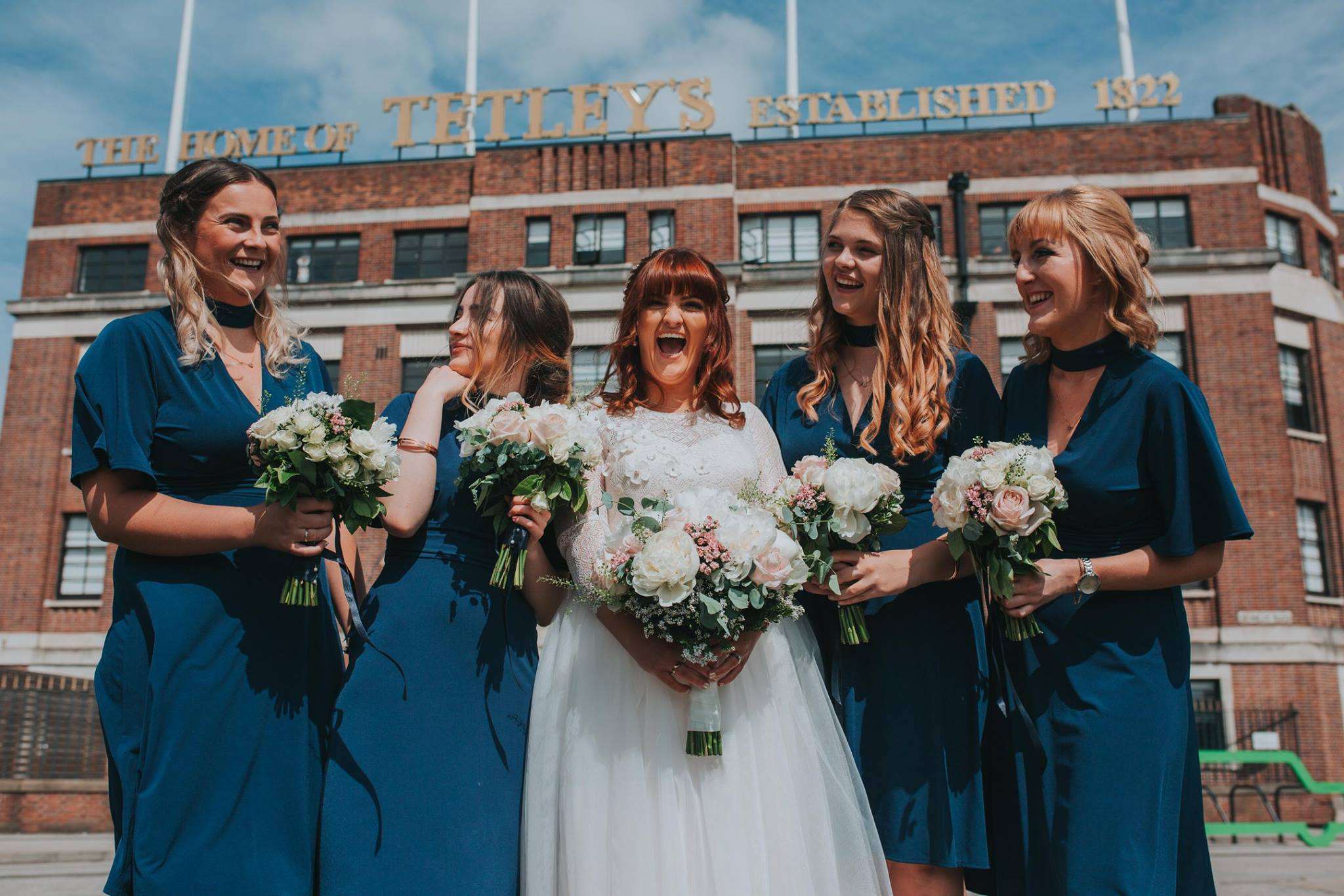 fun wedding photography urban leeds