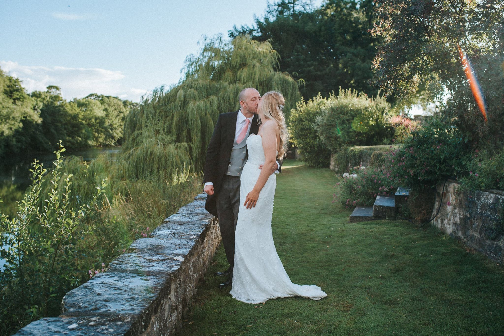 yorkshire family wedding marquee outdoor
