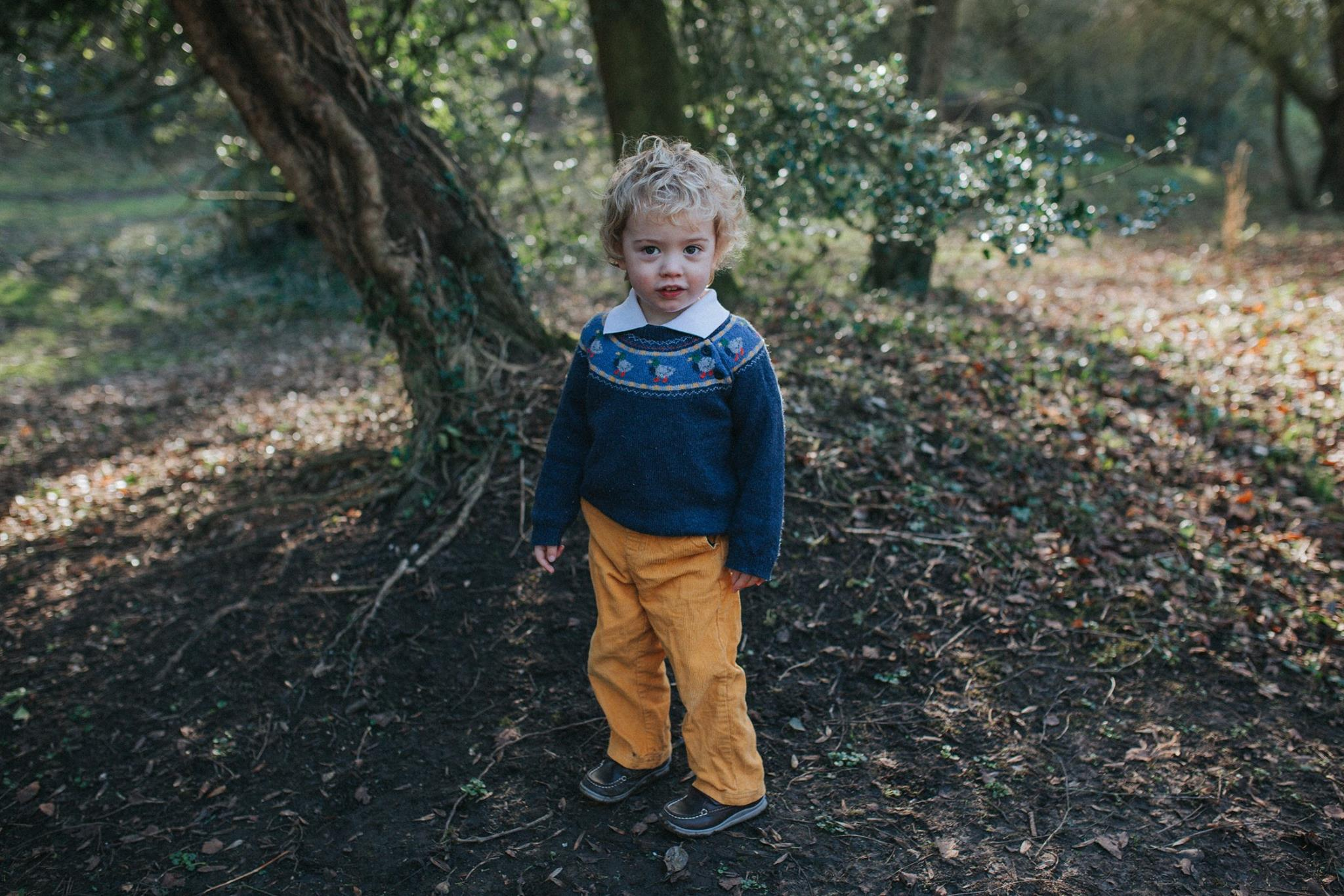 family shoot natural photography woodland