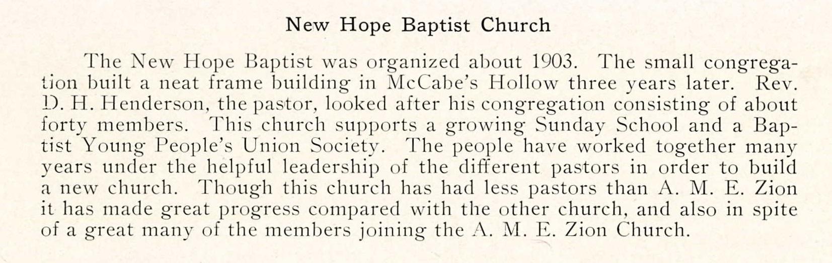 New Hope Baptist Church - 1924 Coraopolis HS Review (107).jpg